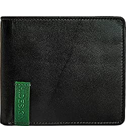 HIDESIGN Dylan 04 Leather Slim Bifold Wallet, Black