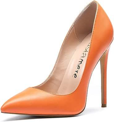 CASTAMERE Scarpe col Tacco Donna Stiletto Tacco Alto Nozze Festa High Heels Sexy Eleganti Scarpe 12CM Tacco