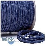 Baumwollkordel 6 mm, blaugrau, 2m, 100% Baumwolle, col.122