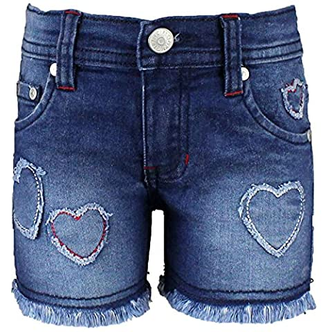 Short Tom Jo fille - Bleu Marine - 12 ans