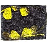 DC Comics Batman genäht Schwarz Portemonnaie Geldbörse
