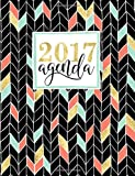 Agenda: Gray & Gold Agenda 2017 Semainier