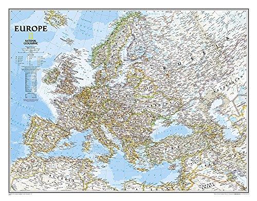 Europa, Classic, politisch, laminiert (Walking Atlas)