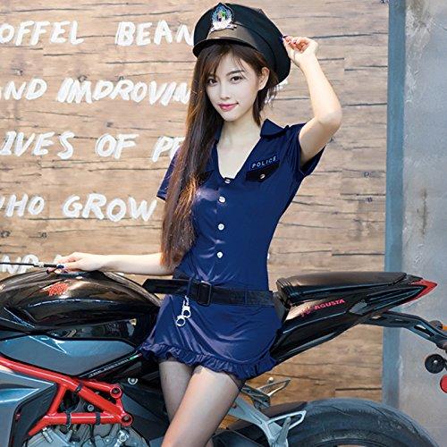 Roleeplay sexy Dessous, Uniform, Sm Queen, Polizei Suche Officer, Rolle spielen Rock, Night Club, Stewardess, Cos-Suite, (Suite Bunny)
