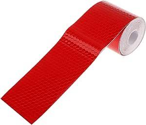 3m Warnung Reflektierende Sicherheitsklebeband Aufkleber Für Lkw Auto Rot Auto
