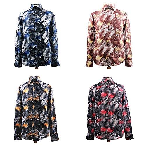 Sunrise Outlet - Chemise habillée - Avec boutons - Homme Marron - Marron