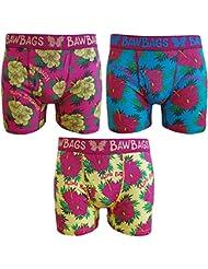 BawBags Lot de 3 Boxers-Aloha