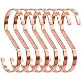 SumDirect 10 Stuks Rose Goud S-Haken Keuken S Haken Hangende S-Vormige Haken S Hanger Haken (Rose goud)
