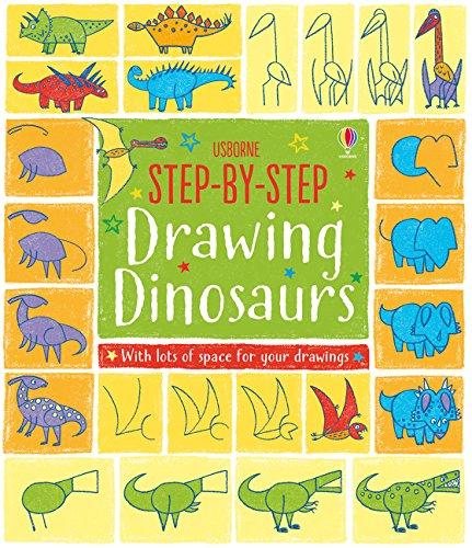 Step-by-Step Drawing Book Dinosaurs por Fiona Watt