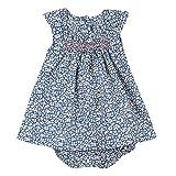 Absorba Boutique Bord de Mer Lf, Vestido para Bebés, azul, 18-24 meses (tamaño del fabricante: 23M)