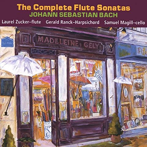 The Complete J.S. Bach Flute Sonatas (2 Cd Set)