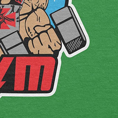 TEXLAB - Eternia Gym - Damen T-Shirt Grün