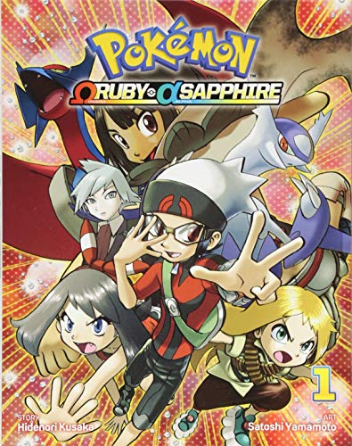 Pokemon Omega Ruby Alpha Sapphire Volume 1 por Hidenori Kusaka
