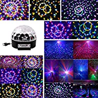 Speed LED Iluminación de discoteca Party Luz Iluminación de discoteca fiesta iluminación Etapa iluminación bola de discoteca luz de discoteca Efectos con MP3
