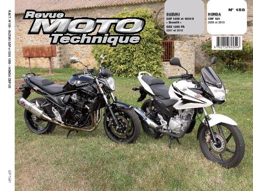 Revu Moto Technique, n°158 : Suzuki GSF 1250 et 1250 S «Bandit», GSX 1250 FA (2007 et 2010) – Honda CBF 125 (2009 et 2010)