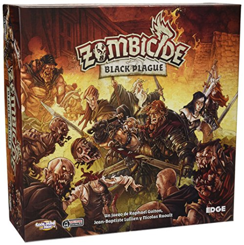 Zombicide - Juego Black Plague (Edge Entertainment EDGBP001)