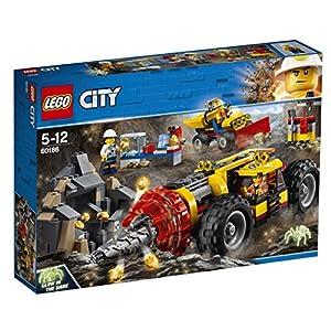 LEGO- Friends Trivella Pesante da Miniera, Multicolore, 60186  LEGO