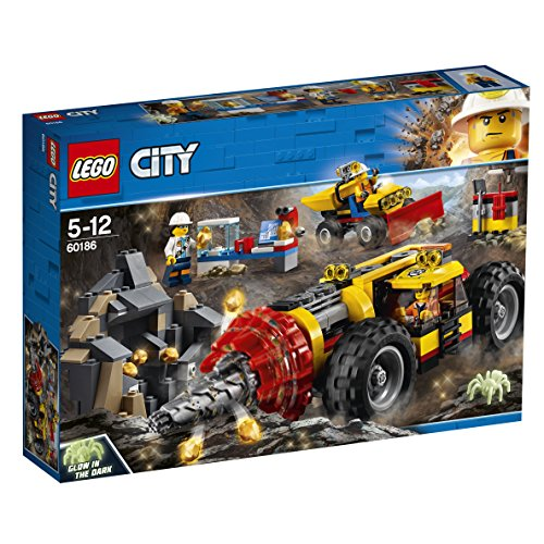 LEGO City - Trivella Pesante da Miniera, 60186