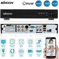 KKmoon 4 Canali 1280*720P Videoregistratore CCTV Network DVR H.264 HDMI