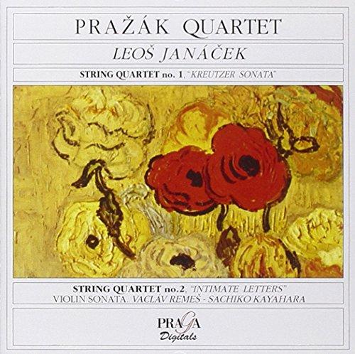 Janacek : Quatuors à cordes n° 1 et n° 2 -  Sonate pour violon et piano
