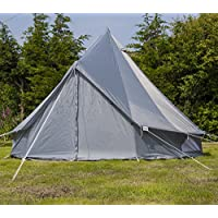 Andes 3m Oxford Bell Tent With Heavy Duty Zipped In Groundsheet, Camping, Glamping, Festival, Luxury Teepee 1