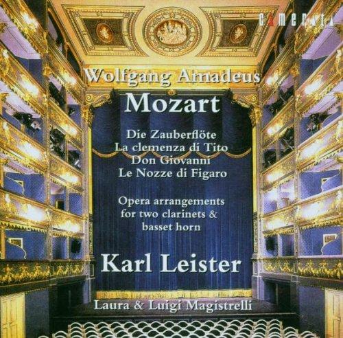 Arrangements d'Opéra pour 2 clarinettes & cor de basset