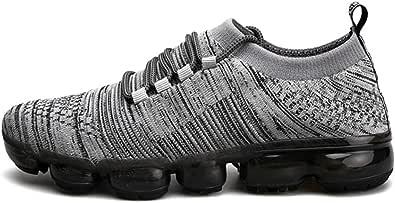 Sneakers Uomo Scarpe Summer Flying Woven Mesh Traspirante Colorato Lace Up Running Scarpe Casual Sportive Leggere