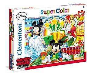 Disney - Puzzle, 250 Piezas, diseño Mickey Sport (Clementoni 297146)