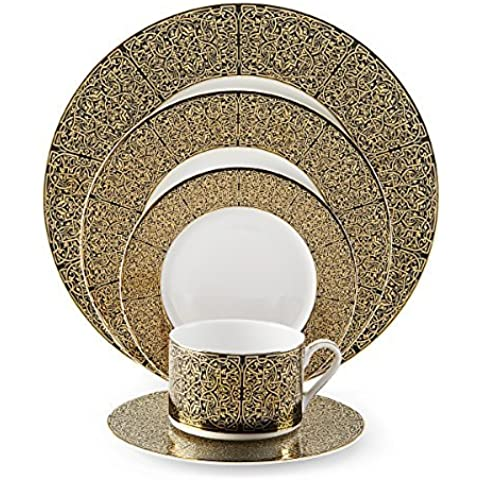 Mikasa Antonia Gold 5-Piece Place Setting, Service for 1 by Mikasa