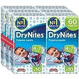Huggies DryNites Boy hochabsorbierende Pyjamahosen Unterhosen für Jungen 4-7 Jahre, 3er Pack (3x 10 Windeln)