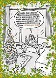 Postkarte A6 • 8180 ''Keine Weihnachtskarte'' von Inkognito • Künstler: Til Mette • Cartoons • Weihnachten
