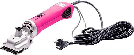 VOSS.farming profiCUT Schermaschine Pink | für Pferde | extra leise und laufruhig | mit Profi Messersatz | Pferdeschermaschine Haarschneidemaschine