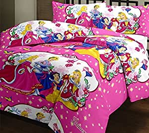 ... Angeltextile Prumart Disney Princess  Double Bedsheet   Bedsheets/ Bed  Sheet Kids