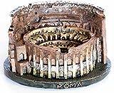 COLOSSEO 11X9X6(H)CM - Arredo per donare un tocco di antichità al tuo acquario