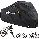 Fietshoes voor 2 fietsen, fietshoes voor buitenopslag, 210T nylon, waterdicht, anti-stof, regen, uv-bescherming voor mountain