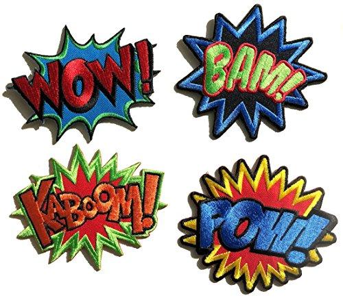 i-Patch - 0070 - Patch - Patches - Set - Wow - Bam - Kaboom - Pow - Stickerei -...