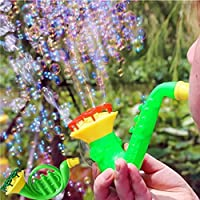 Winkey Water Blowing Toys Bubble Soap Bubble Blower Outdoor Kids Child Toys-Color Random,Best Gift Toy For 1 2 3 4 5 6 7 8 Years Old Baby Boy Girls (Bubble Gun)