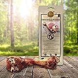 Tiera Gourmet Edelschinken Kauknochen L | Gesunde Hundeleckerlie Schwein | Italienischer Hundeknochen