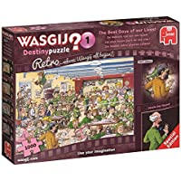 Wasgij Retro Destiny 1 - The Best Days of Our Lives! - 1000 Piece Jigsaw Puzzle