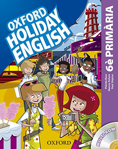 Holiday English 6º Primaria: Pack (catalán) 3rd Edition (Holiday English Third Edition) - 9780194546270