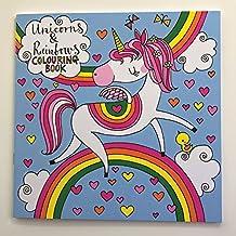 Rachel Ellen - Libro para colorear con unicornio y arco iris
