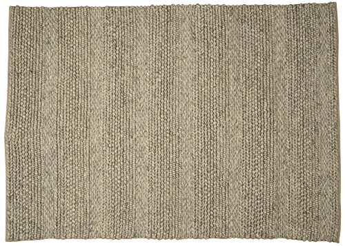 Toulemonde bochart Collection linea Modell Irish Teppich Wolle Flanell 200 x 140 cm