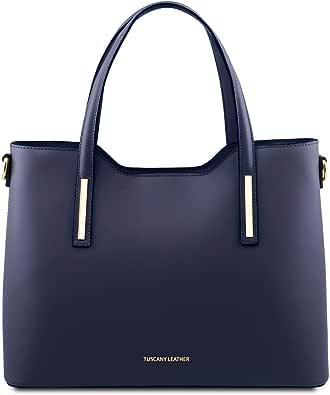 Tuscany Leather Olimpia Borsa shopping in pelle