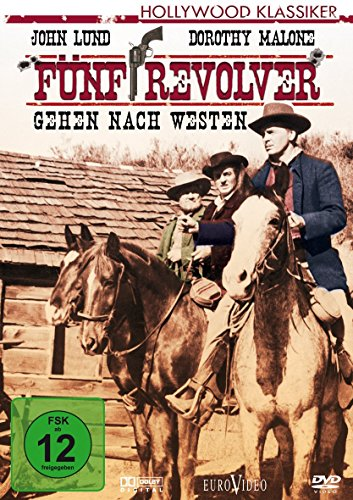Bild von Fünf Revolver gehen nach Westen