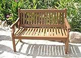 Sedex New Jersey Gartenbank 2-Sitzer Bank FSC® 100% Eukalyptusholz Parkbank Holzbank Massivholz