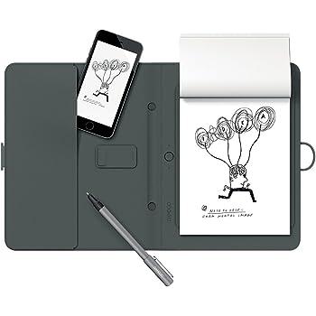 Wacom CDS-600G Bamboo Spark Digitalizzatore di Appunti su Carta con Tasca, Grigio