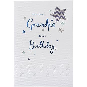 Hallmark Birthday Card For Grandpa Time To Celebrate Medium