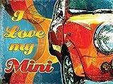 I Love My Mini Classic Retro 60