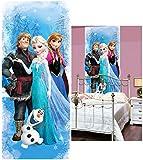 alles-meine.de GmbH Fototapete -  Disney die Eiskönigin / Frozen & Olaf  - 211 cm x 91 cm - Incl..