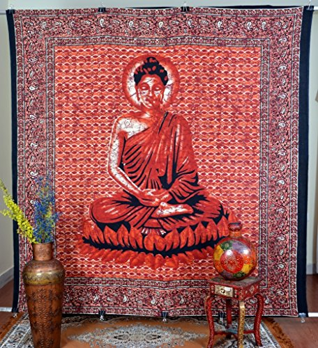 jaipur-kala-kendra-tapiz-indio-senor-buda-batik-impreso-color-rojo-colgante-de-pared-decoracion-arte